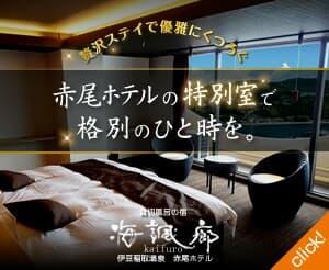 贅沢ステイで優雅にくつろぐ赤尾ホテルの特別室で格別のひと時を