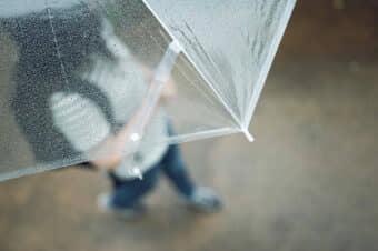 下田海中水族館の雨の日の画像