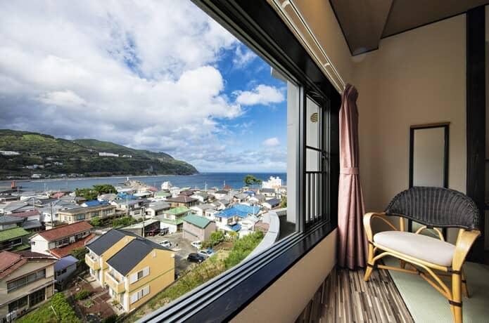 赤尾ホテル 客室からの風景