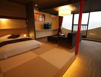 赤尾ホテルの客室の画像