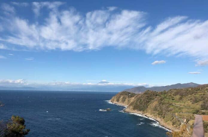 恋人岬からの景色