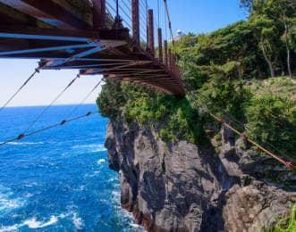 城ケ崎吊り橋