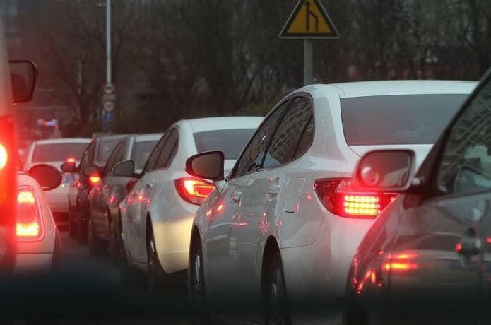 伊豆への渋滞