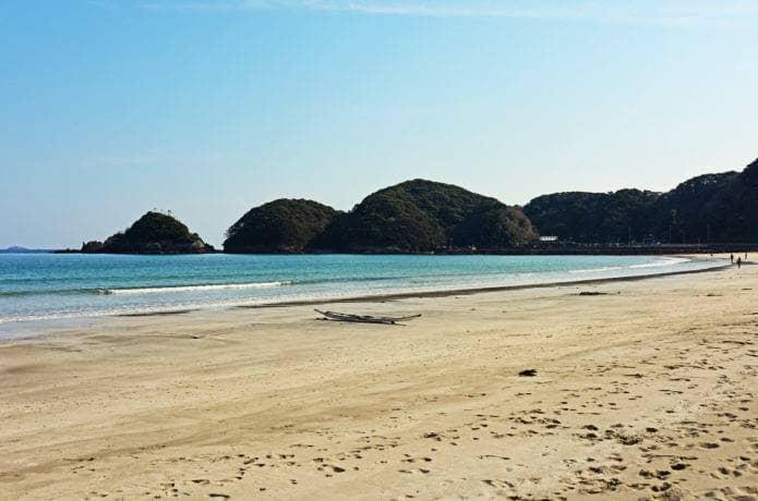 南伊豆最大のビーチ