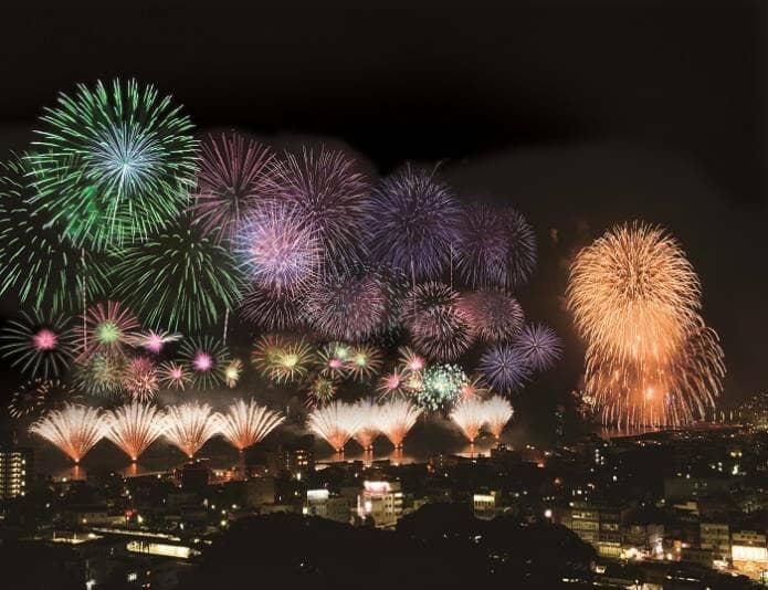 伊東市の花火大会