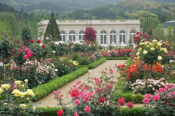 河津にあるフランス式庭園