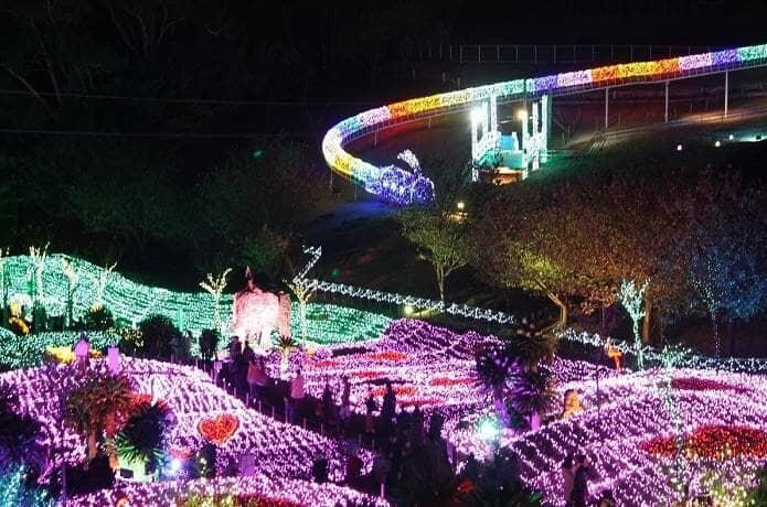伊豆ぐらんぱる公園の夜景