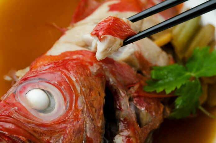 金目鯛の煮つけの画像