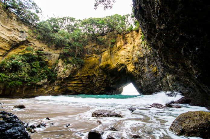 龍宮窟のプライベートビーチ