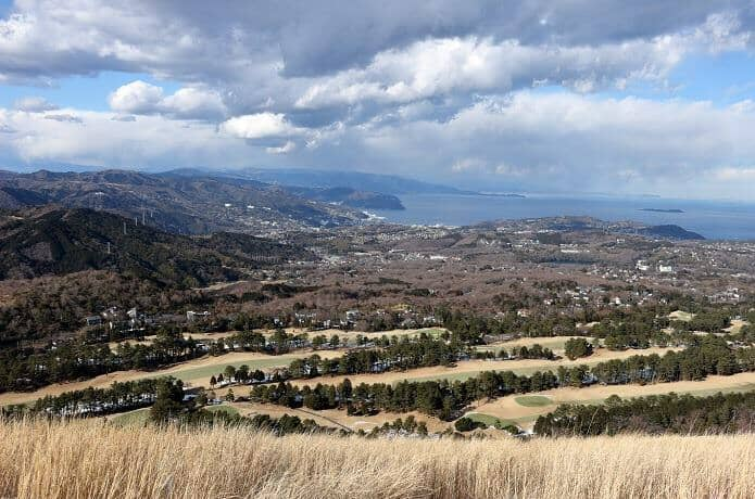 大室山 山頂からの景色