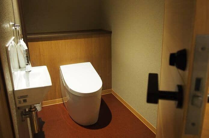 銀水莊 トイレ