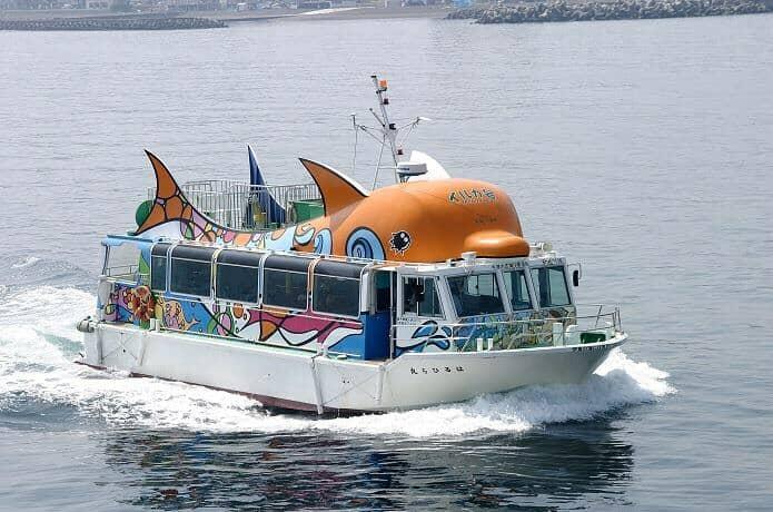 【遊覧船】はるひら丸イルカ号