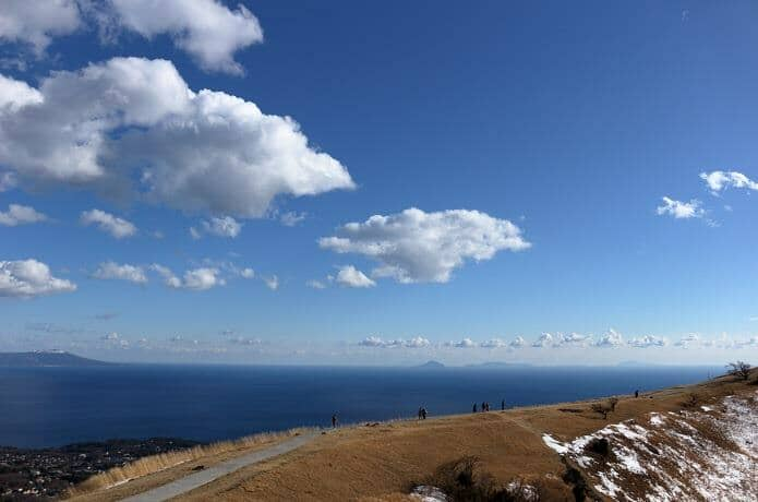 大室山 絶景と遊歩道
