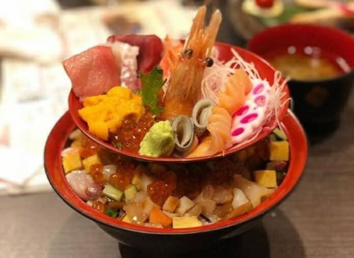 うまい鮨勘の海鮮丼の画像