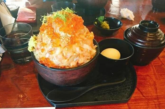 伊豆の海鮮丼の画像