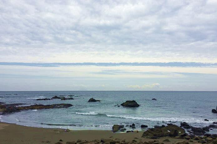 昼の今井浜海岸