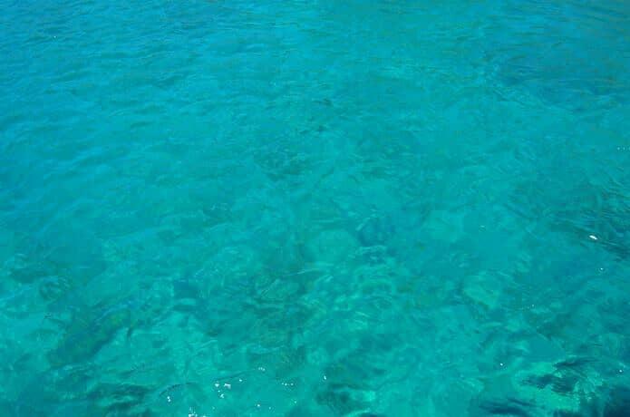 ヒリゾ浜 海面