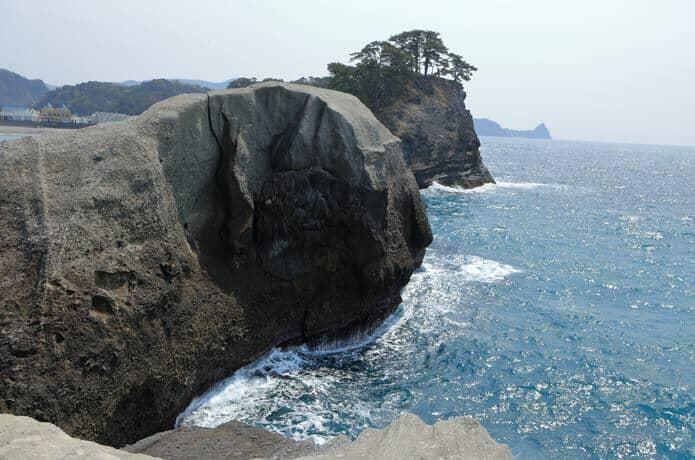 堂ヶ島 亀岩