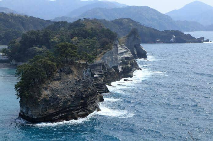 堂ヶ島 蛇島