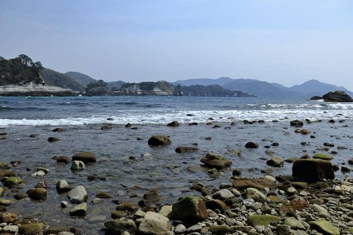 堂ヶ島と海