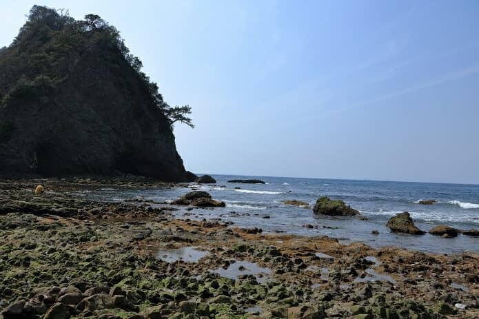 堂ヶ島 トンボロ