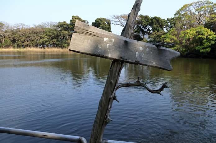 神社と神池