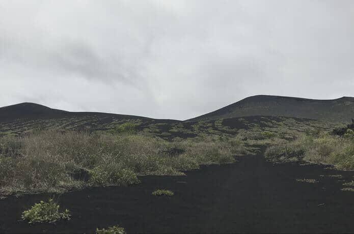 伊豆大島 黒砂漠