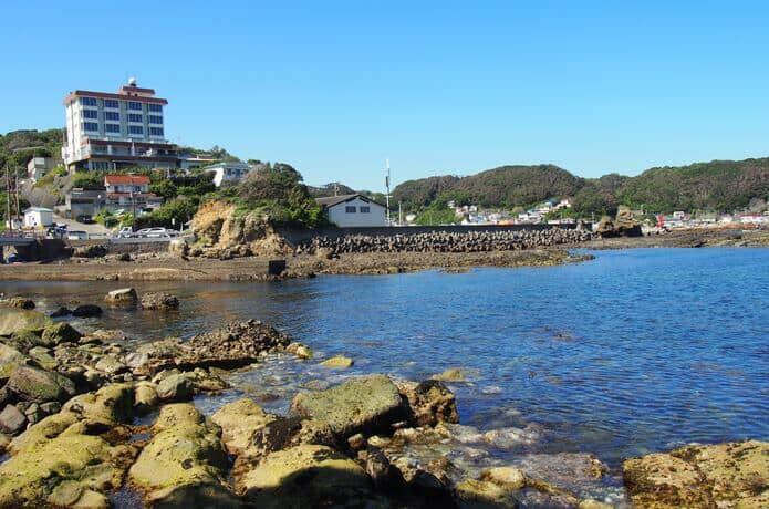 恵比須島とホテル