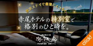 稲取温泉 赤尾ホテル 特別室紹介