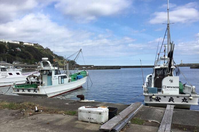 伊豆稲取漁港