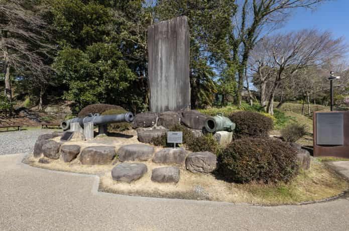 韮山反射炉 砲台