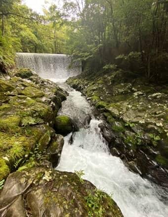 萬城の滝 上流