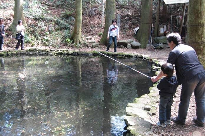 丸鉄園 釣り体験