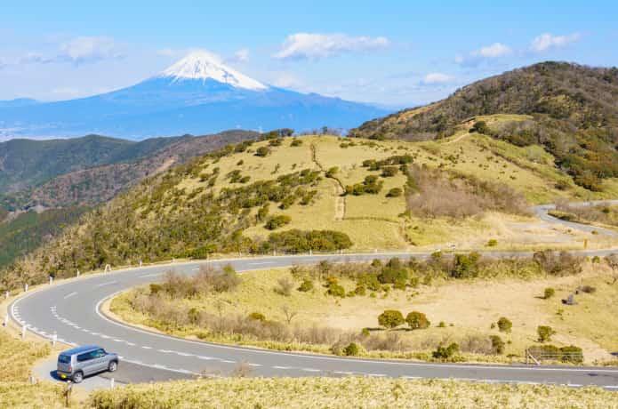 達磨山高原と西伊豆スカイライン