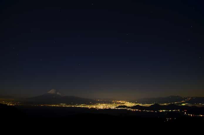 だるま山高原 夜景