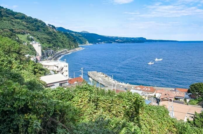 東伊豆 沿岸の景色