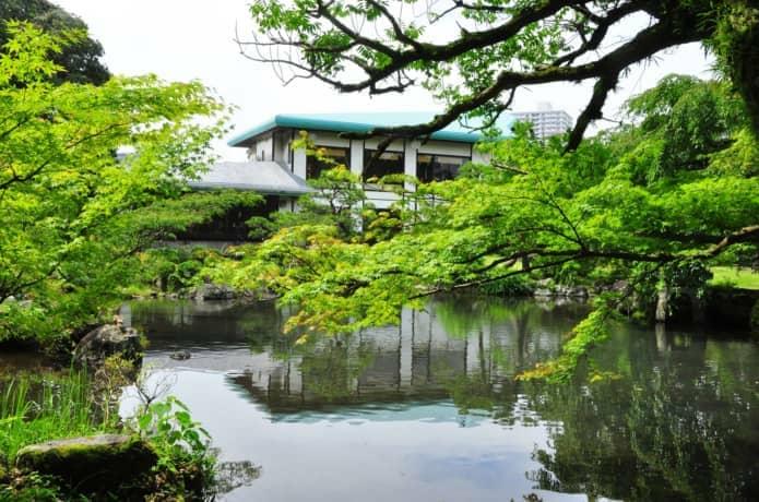 佐野美術館と日本庭園
