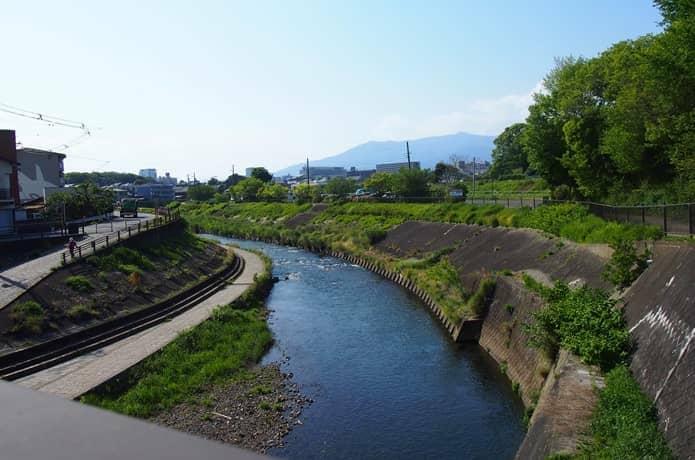三島市 大場川