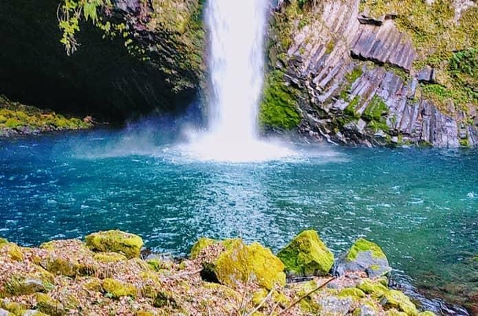 浄蓮の滝 滝壺
