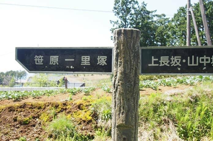 箱根旧街道 案内標識