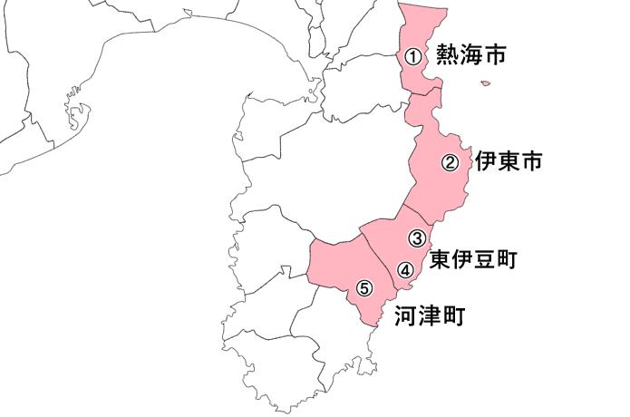 伊豆半島 地図