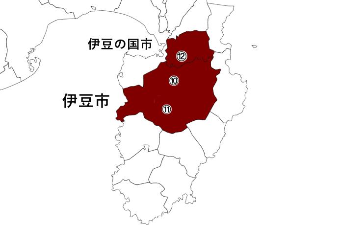 中伊豆 地図