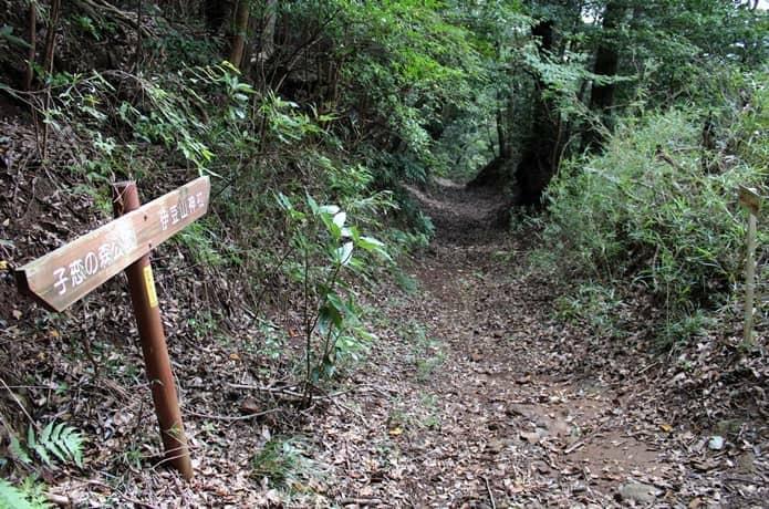 伊豆山神社への帰り道