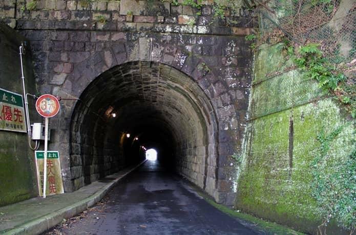 錦ヶ浦 トンネル